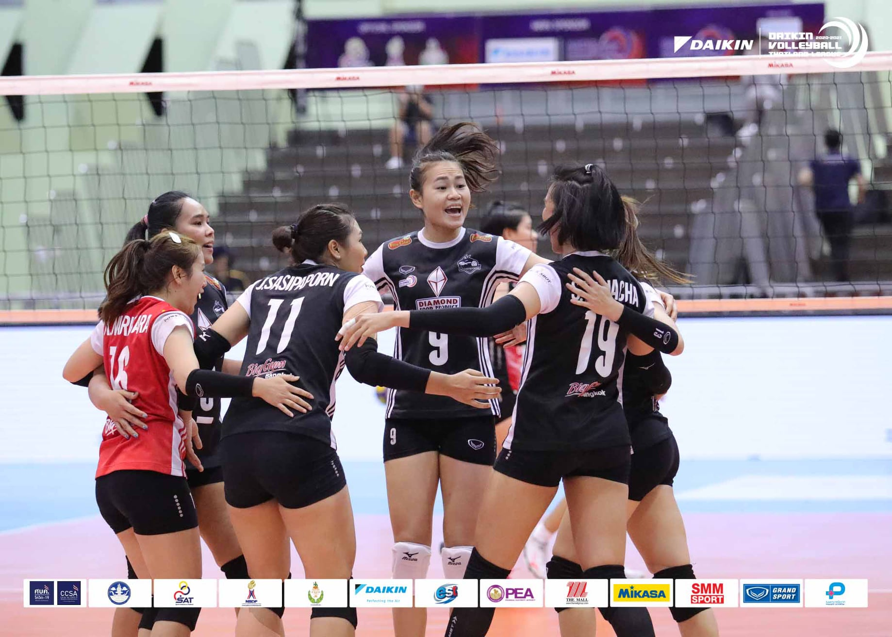 DIAMOND FOOD, NAKHON RATCHASIMA REMAIN UNBEATEN AND STAY ON COURSE IN THAILAND LEAGUE FINALS