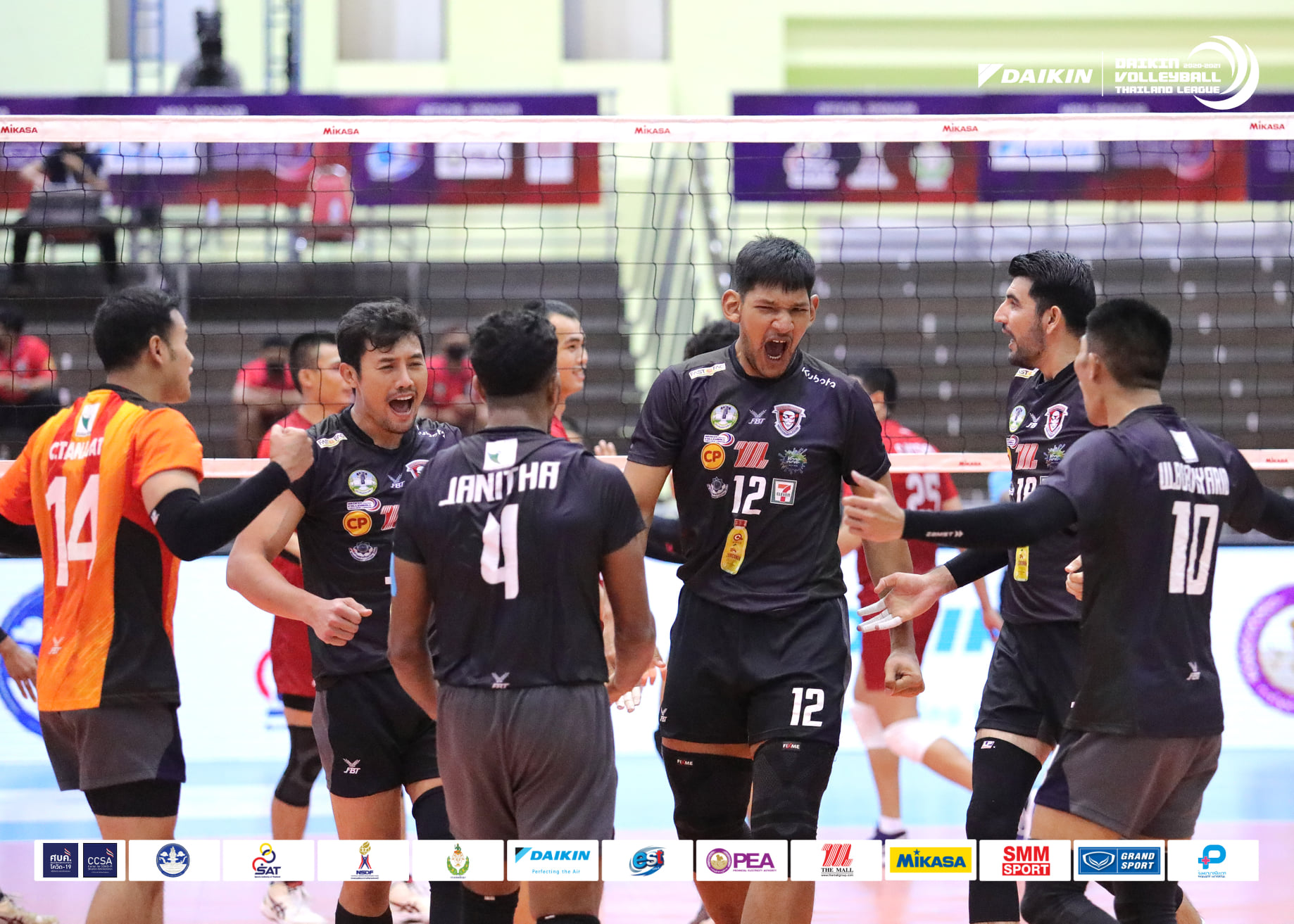 NAKHON RATCHASIMA UNOFFICIALLY CROWNED MEN'S CHAMPIONS IN VOLLEYBALL THAILAND LEAGUE 2020-2021