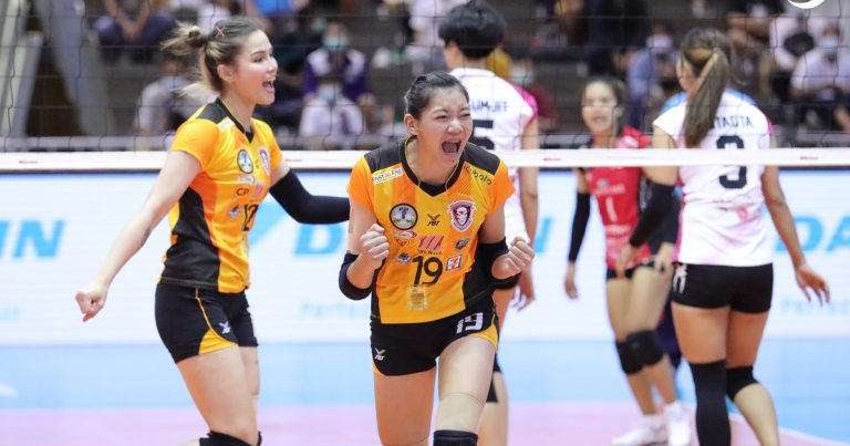 ALL MATCHES IN THAILAND LEAGUE TOP-FOUR OPENERS END IN ENTERTAINING STRAIGHT SETS