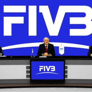 FIVB PRESIDENT OPENS BOARD OF ADMINISTRATION MEETING