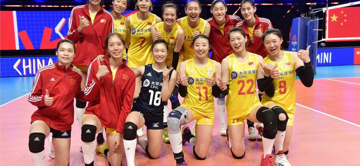 ZHANG ON FIRE AS CHINA CRUISE TO 3-0 VICTORY OVER THAILAND IN VOLLEYBALL NATIONS LEAGUE