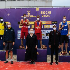 QATAR'S CHERIF/AHMED SETTLE FOR SILVER IN WORLD TOUR IN SOCHI