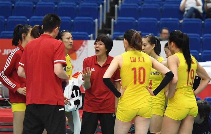 CHINA WOMEN'S VOLLEYBALL TEAM DEPART FOR VNL IN ITALY