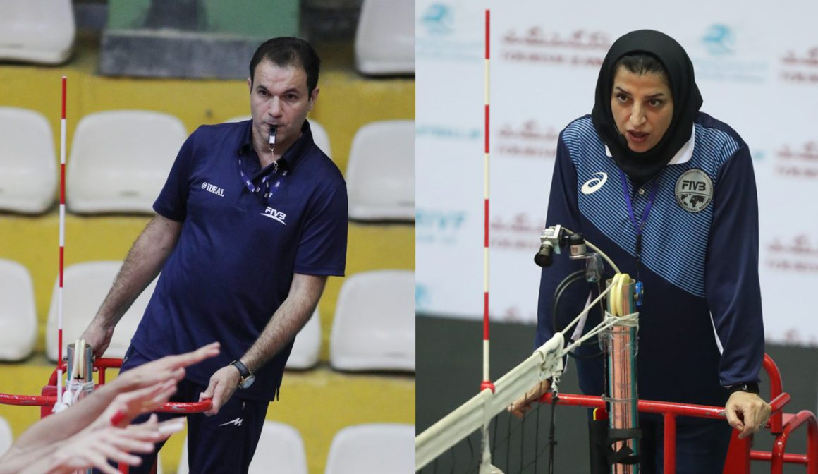 TWO IRANIAN REFEREES TO OFFICIATE IN FIVB AGE-GROUP WORLD CHAMPIONSHIPS