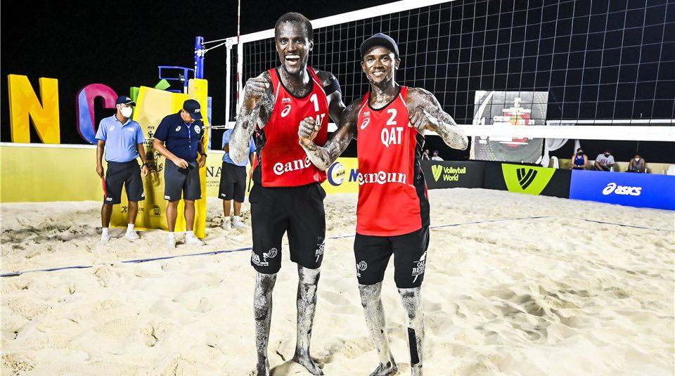 QATAR BEACH VOLLEYBALL TEAM QUALIFY FOR TOKYO OLYMPICS