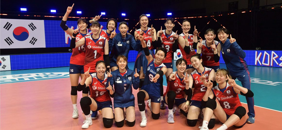 KOREA FIGHT BACK TO BEAT THAILAND IN FOUR SETS IN VNL