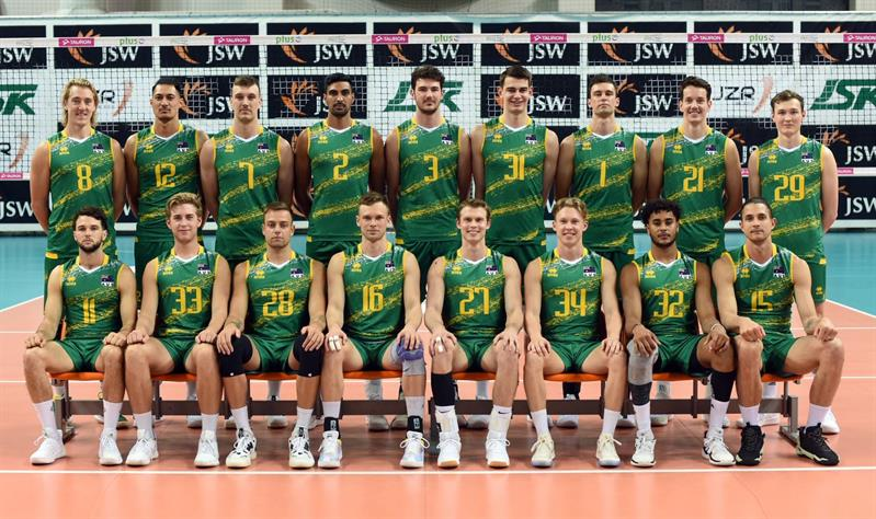 MEN'S VOLLEYROOS IN RIMINI, READY FOR FIVB VOLLEYBALL NATIONS LEAGUE