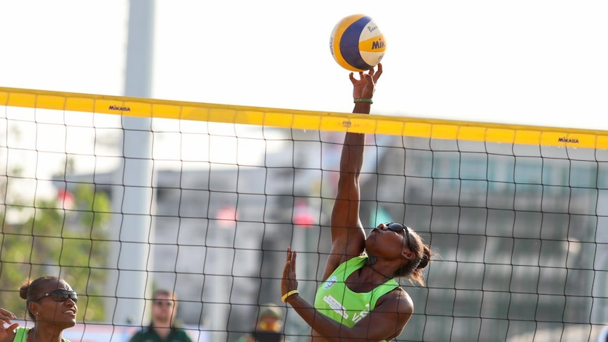 VANUATU WOMEN'S BEACH VOLLEYBALL TEAM HOPE TO MAKE HISTORY BY QUALIFYING FOR TOKYO OLYMPICS