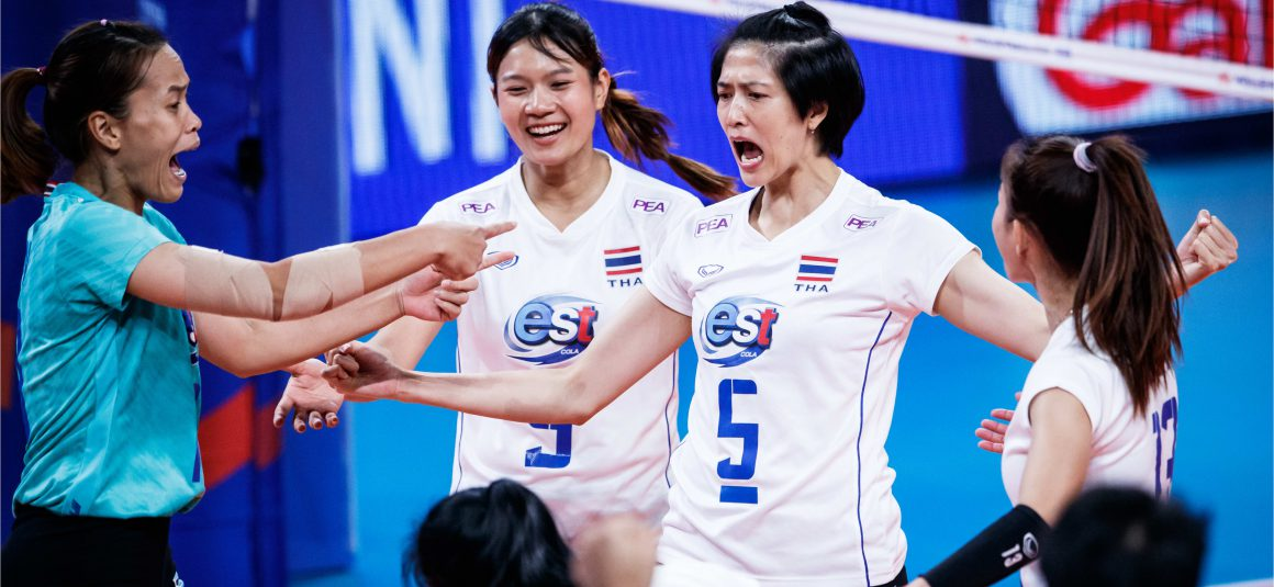 EMBATTLED THAILAND LOSE 1-3 THRILLER TO ITALY TO FINISH BOTTOM AT 2021 VNL
