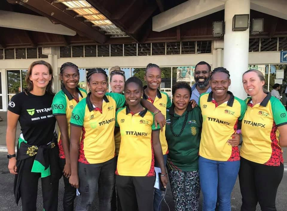 P&O CRUISES AUSTRALIA FAMILY GIVE VANUATU WOMEN'S BEACH VOLLEYBALL TEAM TIMELY SUPPORT TO ACHIEVE OLYMPIC DREAM