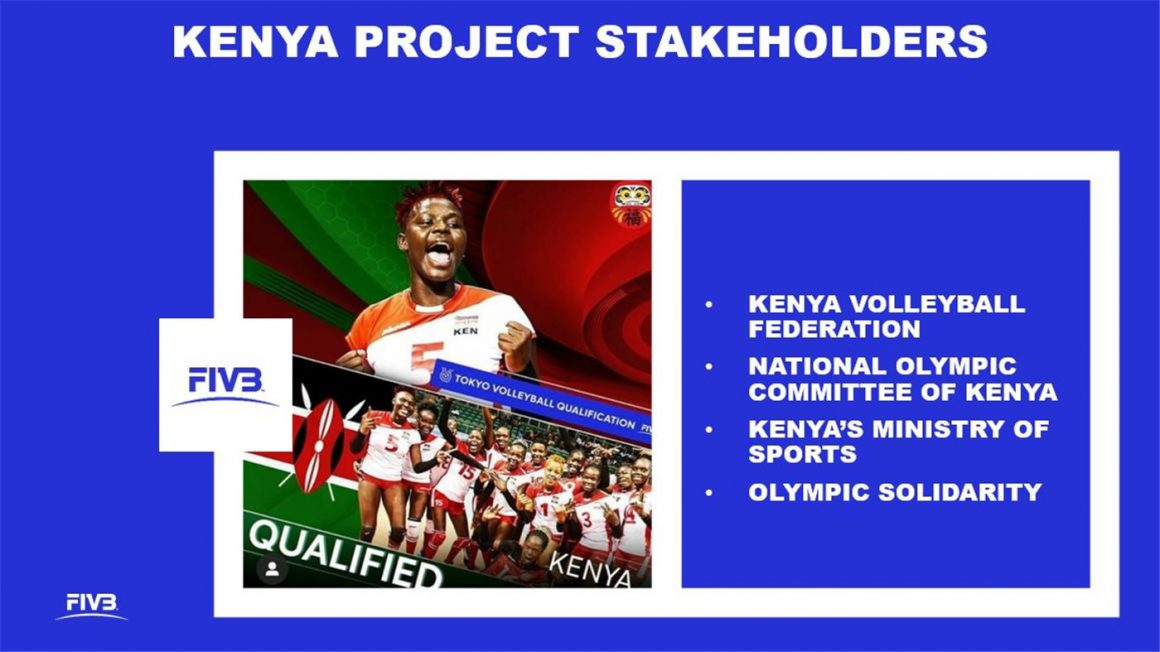 KENYA WOMEN'S NATIONAL TEAM SELECTED FOR FIVB VOLLEYBALL EMPOWERMENT PILOT PROJECT