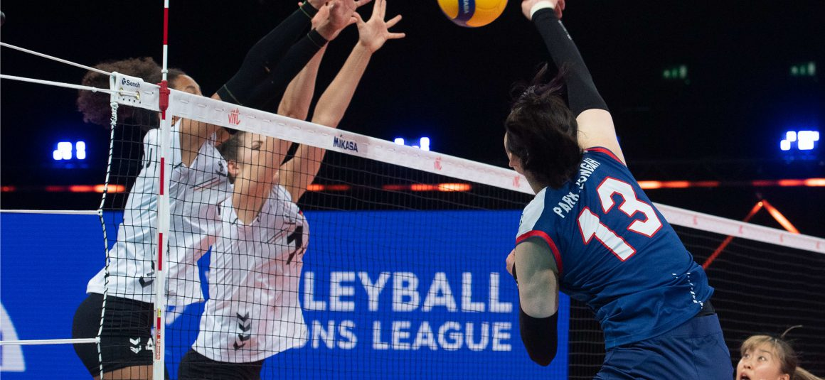 GERMANY CLINCH THIRD WIN AT 2021 VNL AFTER 3-0 DEMOLITION OF KOREA