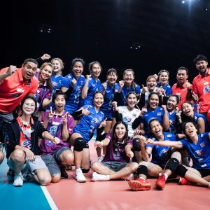 THAILAND PUT IT PAST BATTLING GERMANY 3-1 TO TASTE FIRST VICTORY AT 2021 VNL