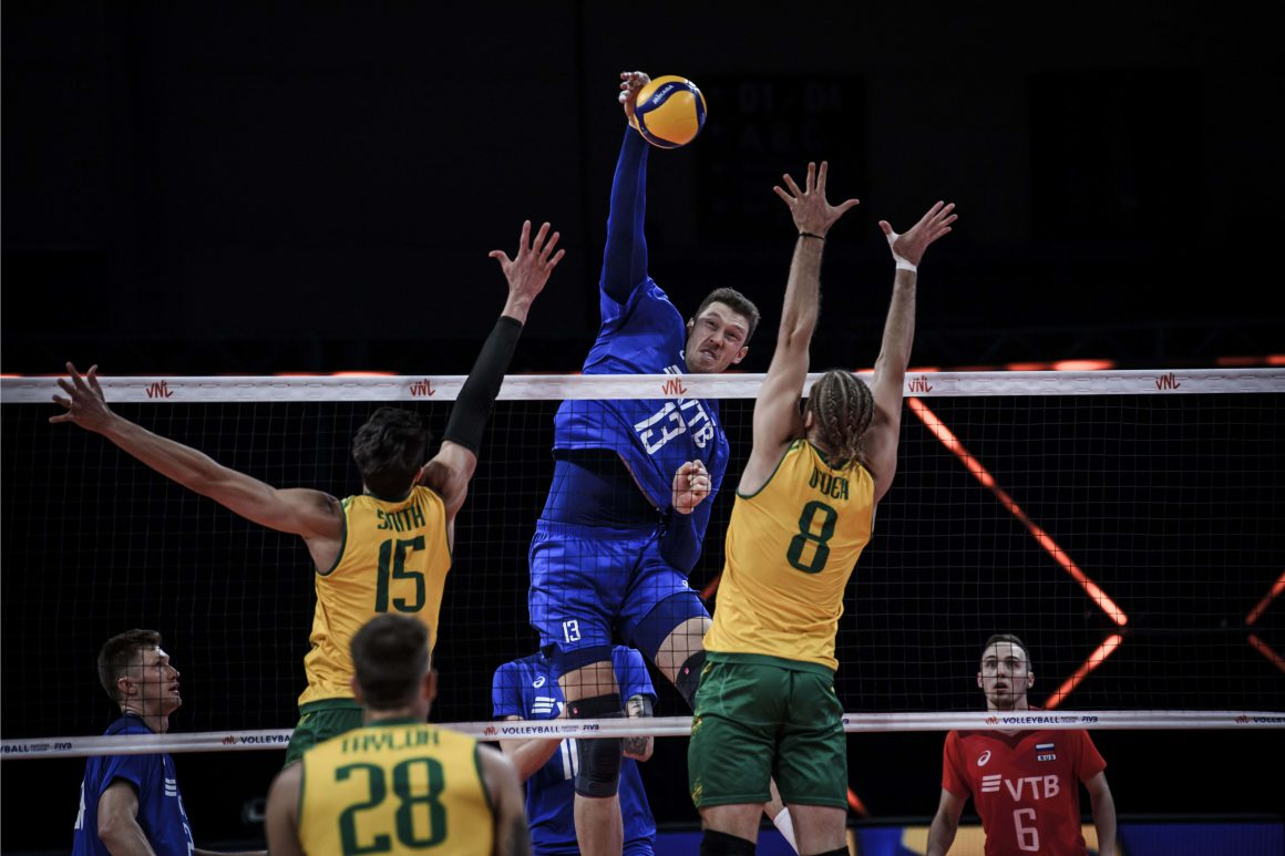 VOLLEYROOS GO DOWN IN HARD-FOUGHT STRAIGHT SETS AGAINST REIGNING CHAMPS RUSSIA