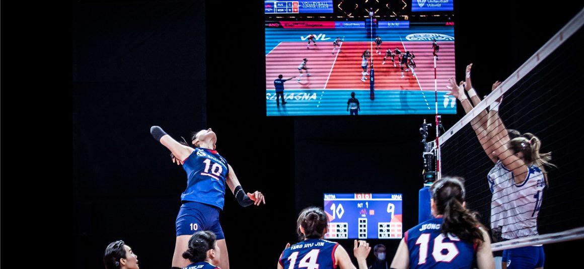 RUSSIA DEMOLISH KOREA 3-0 TO CLAIM 6TH WIN IN 2021 VNL