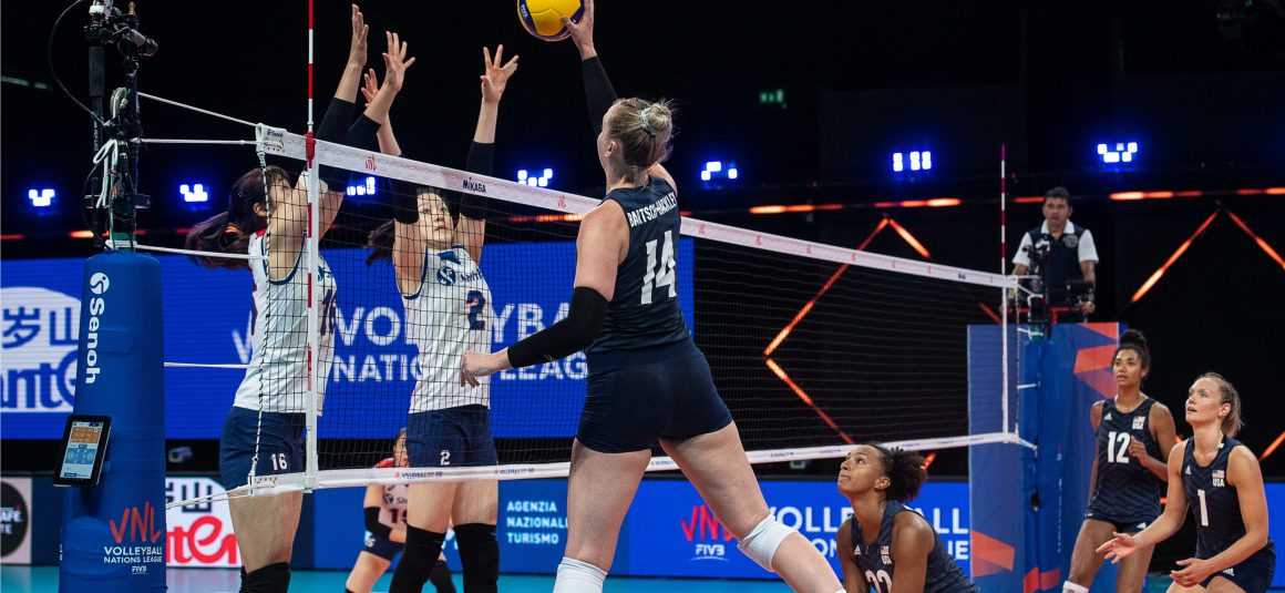 MIGHTY USA PROVE TOO STRONG FOR KOREA