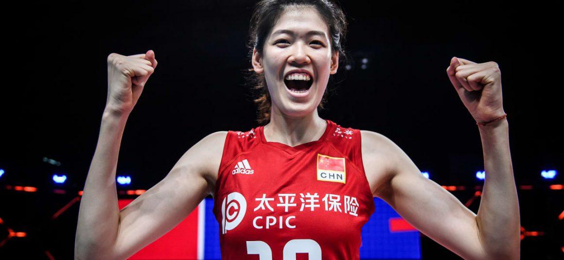 LI YINGYING BRINGING OWN STYLE TO CHINA'S SUCCESS