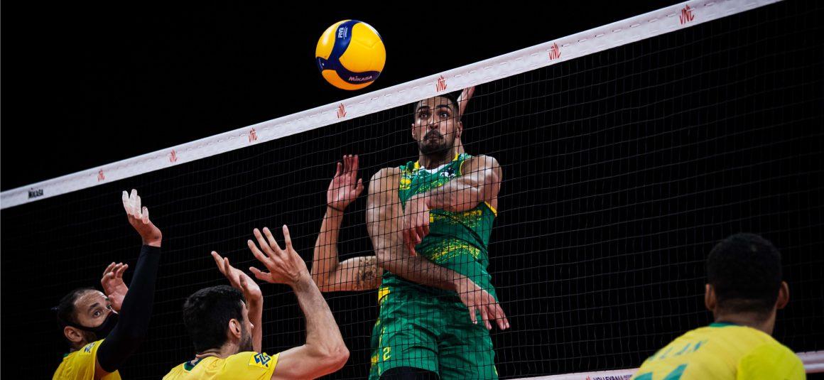 BRAZIL POWER PAST AUSTRALIA IN STRAIGHT SETS
