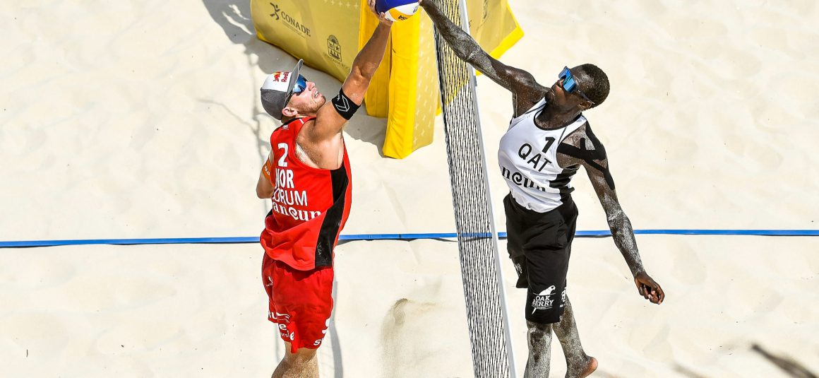 DRAW FOR OLYMPIC BEACH VOLLEYBALL TOURNAMENT TO BE HELD IN MOSCOW