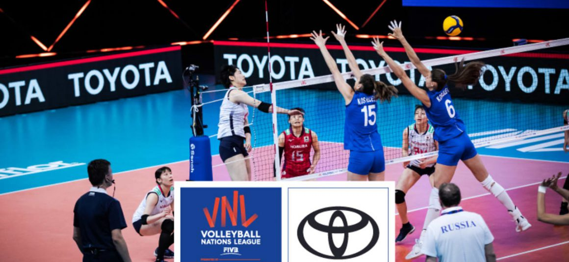 VOLLEYBALL WORLD WELCOMES TOYOTA AS VNL 2021 MOBILITY PARTNER