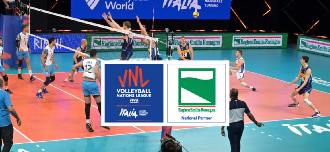 VOLLEYBALL WORLD WELCOMES REGIONE EMILIA-ROMAGNA AS VNL 2021 NATIONAL PARTNER