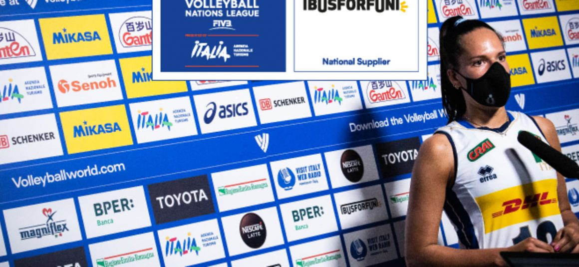 VOLLEYBALL WORLD WELCOMES BUSFORFUN AS VNL 2021 NATIONAL SUPPLIER