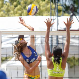 HOME PLAYERS OFF TO WINNING START AT 4TH ASIAN U21 BEACH VOLLEYBALL CHAMPIONSHIPS IN NAKHON PATHOM