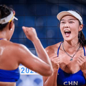 CHINESE PAIRS DELIVER DAY'S SHOCKERS IN TOKYO