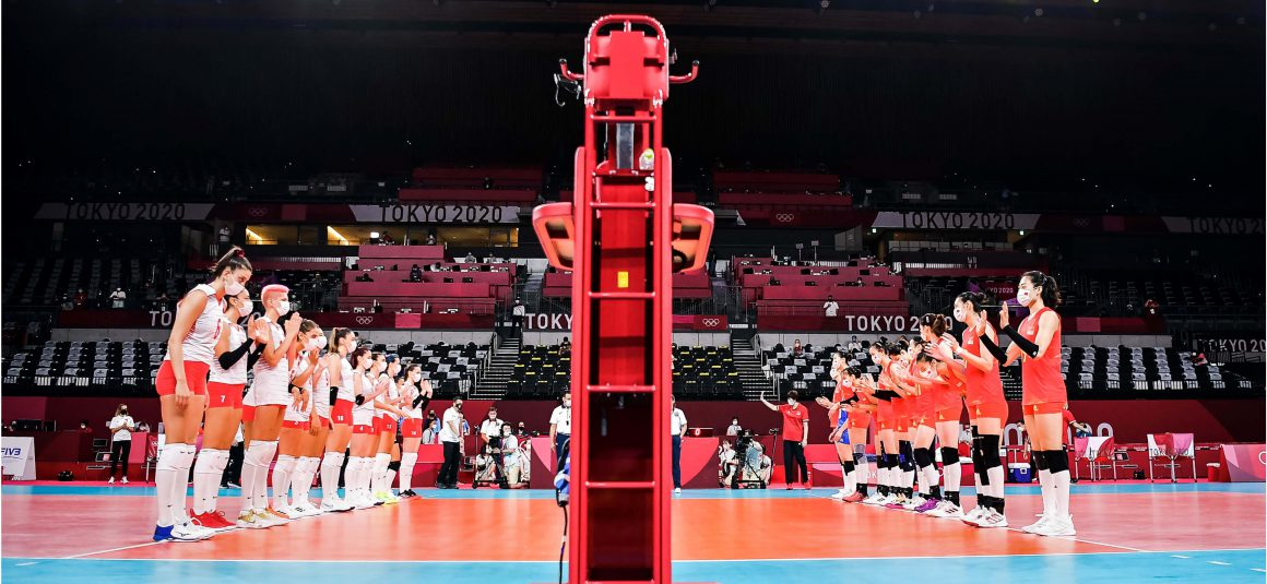 REIGNING CHAMPS CHINA SUCCUMB TO 0-3 LOSS TO TURKEY IN THEIR OLYMPIC OPENER