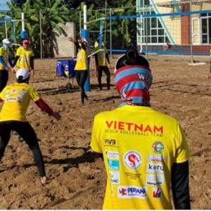 FIVB ELEVATES LEVEL OF VIETNAM'S NATIONAL BEACH VOLLEYBALL TEAMS THROUGH COACHING SUPPORT