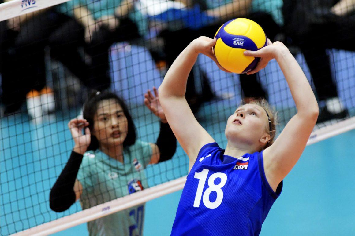 THAILAND SUFFER THIRD LOSS IN FIVB WOMEN'S U20 WORLD CHAMPIONSHIP