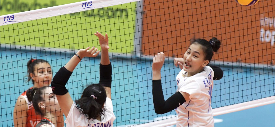 THAILAND REPEATEDLY GO DOWN TO TURKEY AT FIVB WOMEN'S U20 WORLD CHAMPIONSHIP
