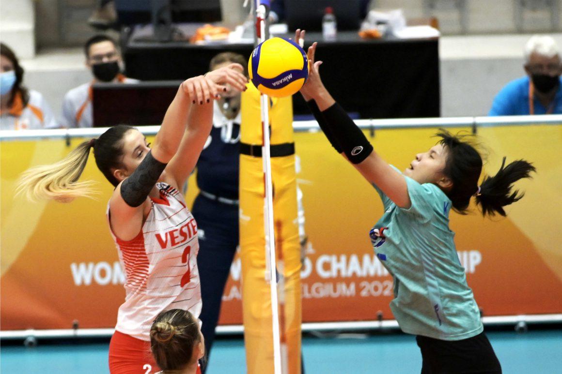 THAILAND GO DOWN IN OPENER AGAINST TURKEY IN FIVB WOMEN'S U20 WORLD CHAMPIONSHIP