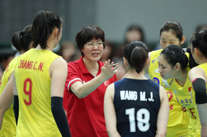 CHINA LOOKS TO RETAIN OLYMPIC WOMEN'S VOLLEYBALL GOLD