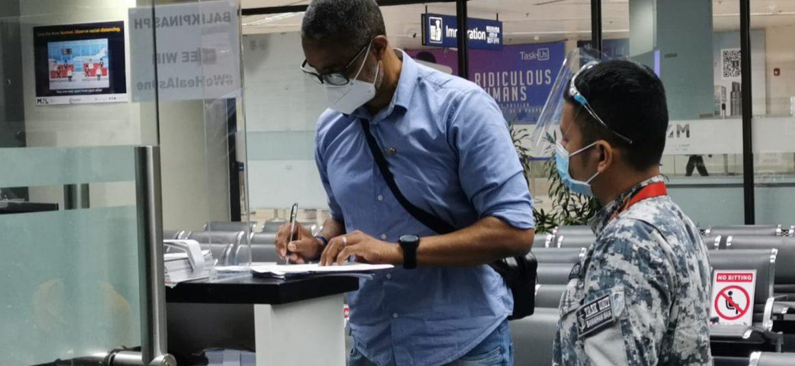 SOUZA DE BRITO ARRIVES IN THE PHILIPPINES