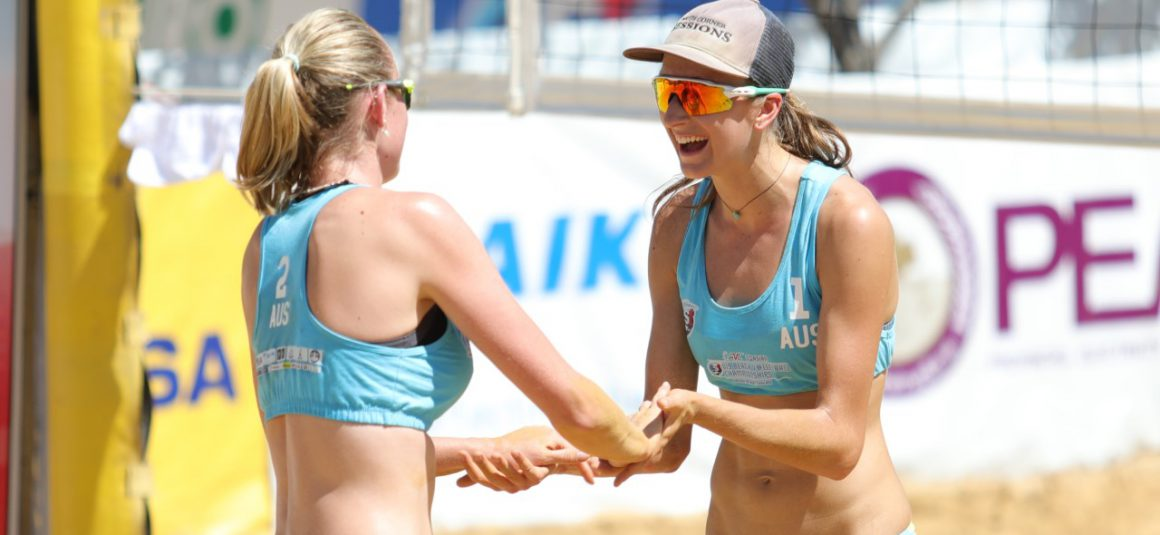 HOSTS THAILAND, AUSTRALIA DOMINATE OPENING DAY OF ASIAN U19 BEACH VOLLEYBALL CHAMPIONSHIPS