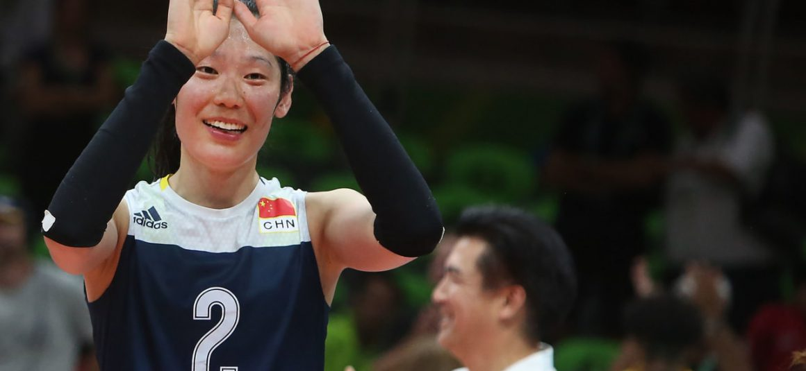 ZHU TING HONOURED AS CHINA'S TOKYO OLYMPICS FLAG BEARER