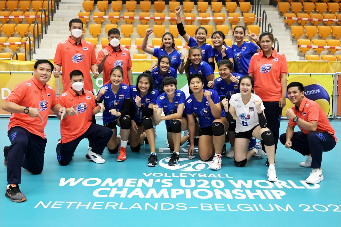 THAILAND TASTE FIRST WIN AT FIVB WOMEN'S U20 WORLD CHAMPIONSHIP AFTER 3-0 ROUT OF RWANDA