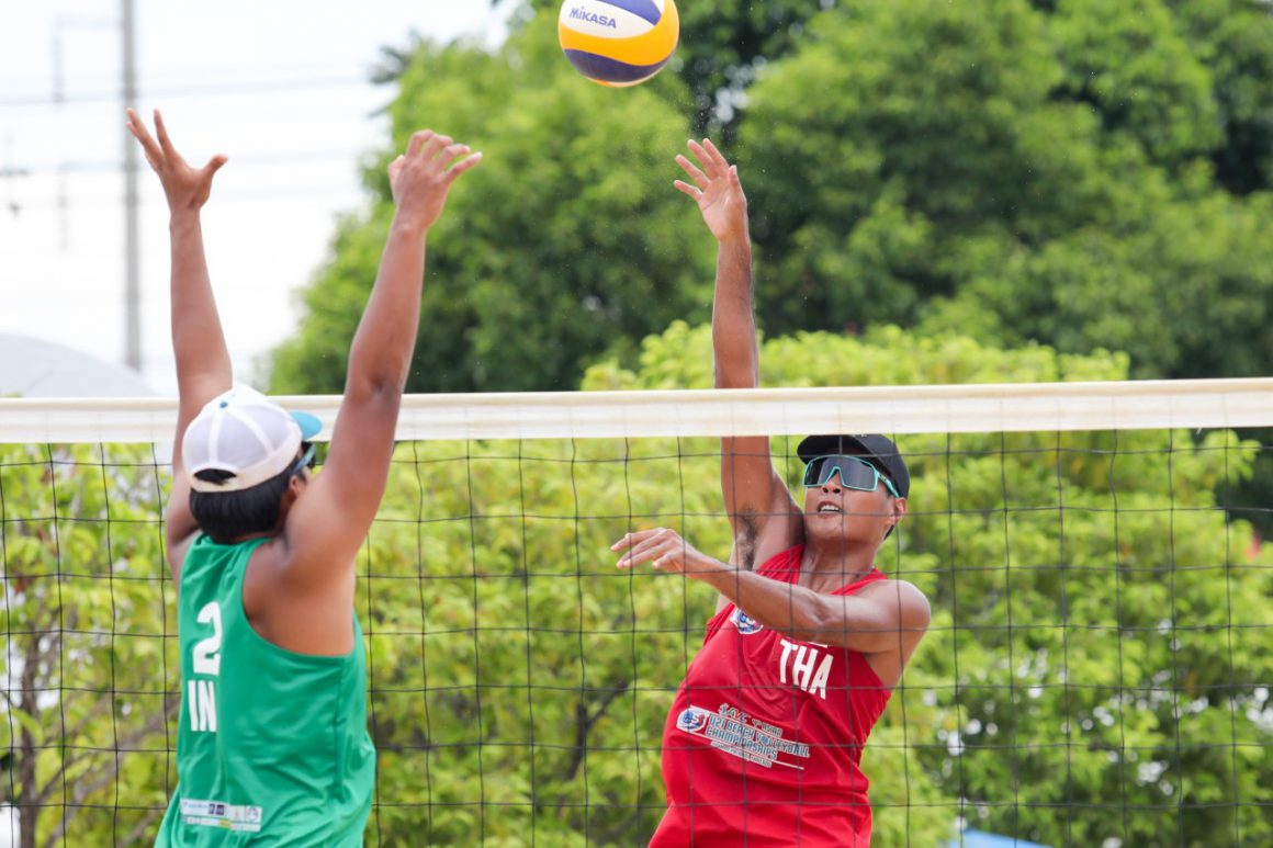 THAILAND DOMINATE PENULTIMATE DAY OF ASIAN U21 BEACH VOLLEYBALL CHAMPIONSHIPS WITH 3 TEAMS THROUGH TO MEN'S SEMIFINALS