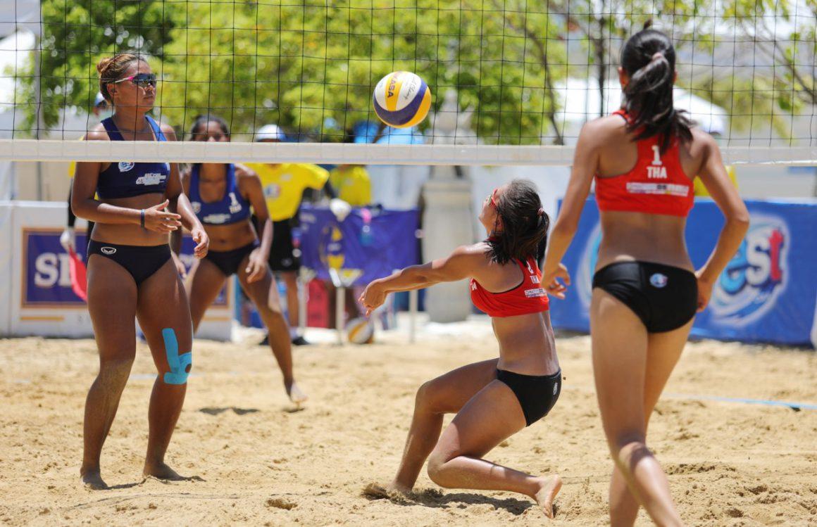 TWO UNBEATEN TEAMS THAILAND, AUSTRALIA SET UP FINAL WOMEN'S SHOWDOWN IN 3RD ASIAN U19 BEACH VOLLEYBALL CHAMPIONSHIPS