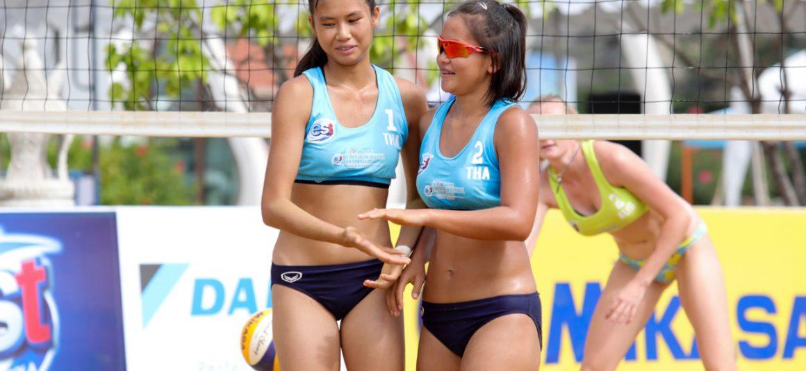 THAILAND, AUSTRALIA THROUGH TO WOMEN'S SEMIFINALS OF 4TH ASIAN U21 BEACH VOLLEYBALL CHAMPIONSHIPS