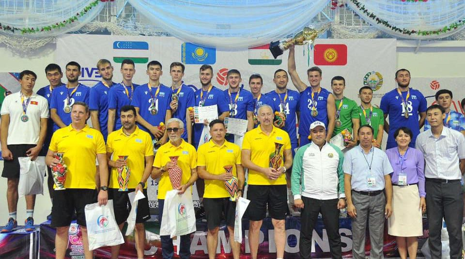 KAZAKHSTAN PROVE A CUT ABOVE THE REST AT INAUGURAL CENTRAL ASIAN VOLLEYBALL CHALLENGE CUP