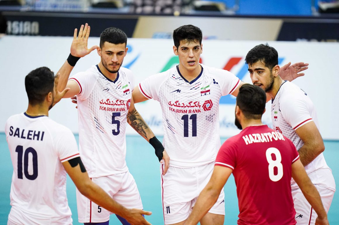 IRAN ON TOP OF POOL B WITH THIRD STRAIGHT WIN IN ASIAN SENIOR MEN'S CHAMPIONSHIP