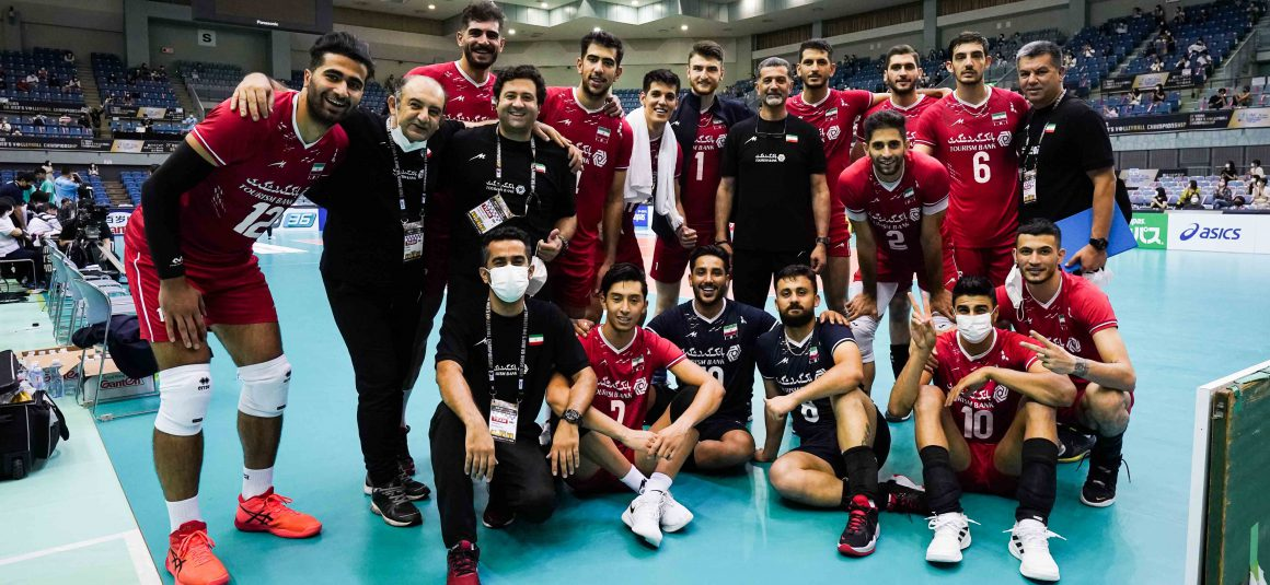 IRAN IGNITE IN STRAIGHT SETS AGAINST THAILAND