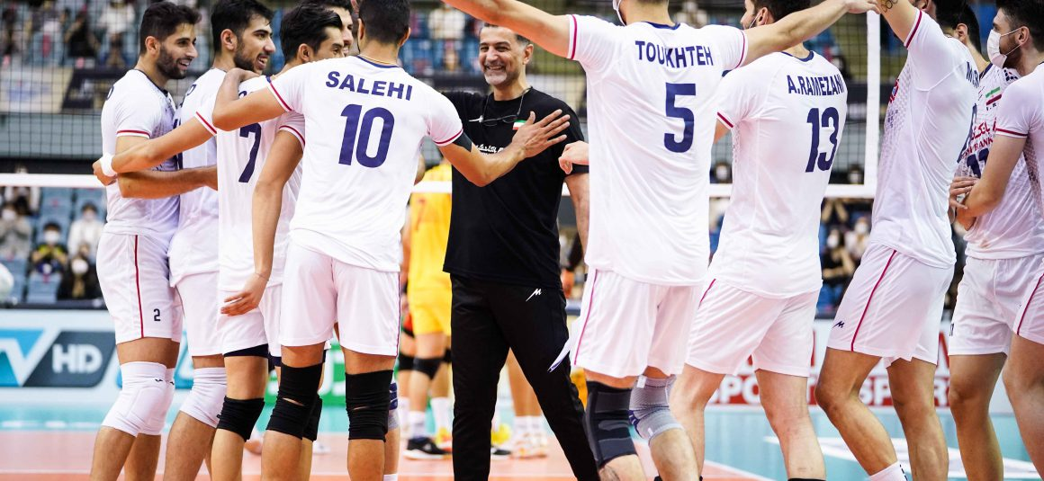 IRAN ON COURSE FOR TITLE DEFENCE WITH 3-1 IN SEMIFINALS AGAINST CHINA