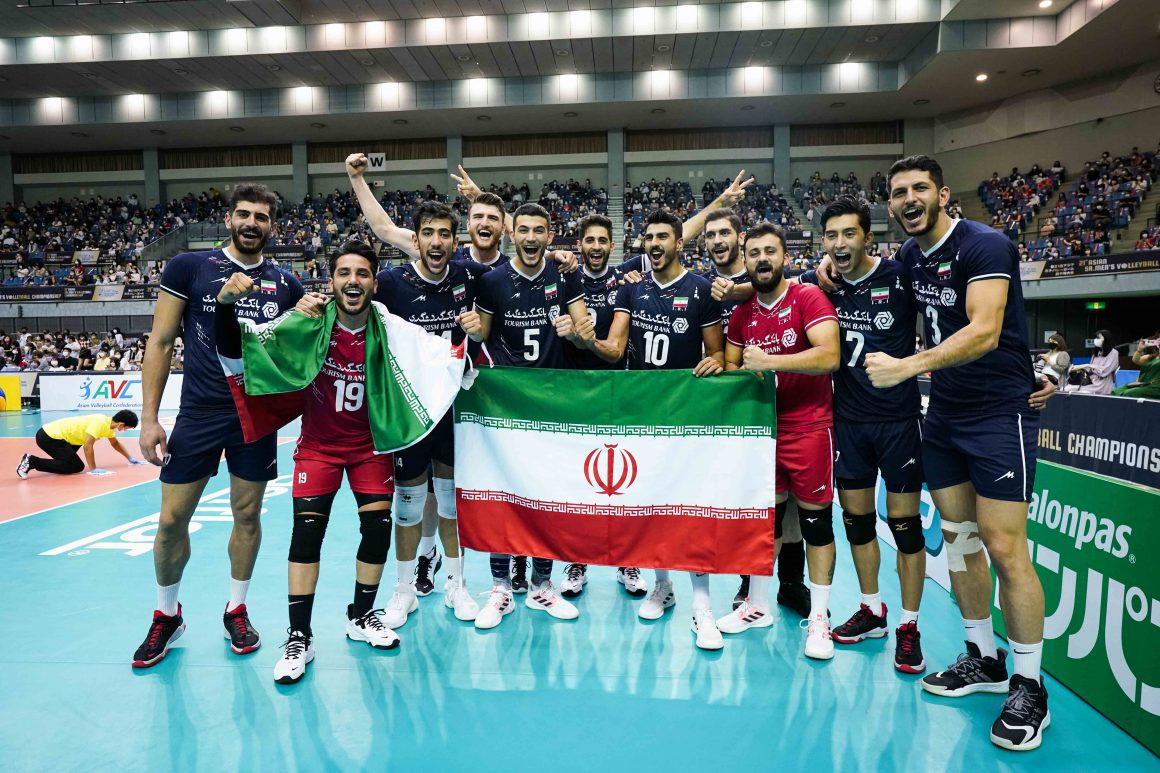 IRAN CROWNED BACK-TO-BACK ASIAN SENIOR MEN'S CHAMPIONS