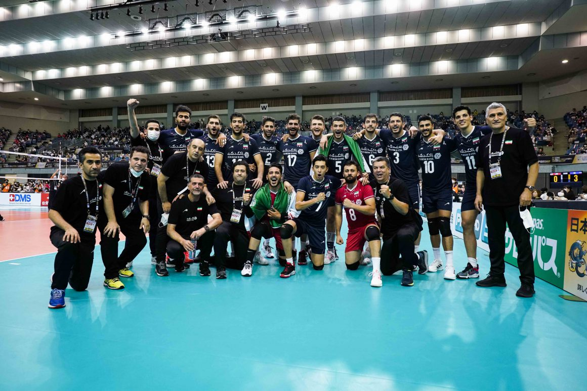 IRAN, JAPAN HEAD TO WORLD CHAMPIONSHIP