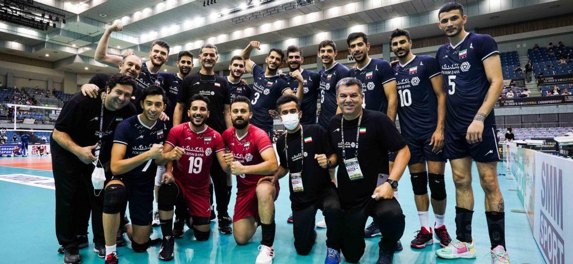 IRAN IN HOT STREAK WITH 3-0 WIN AGAINST KOREA