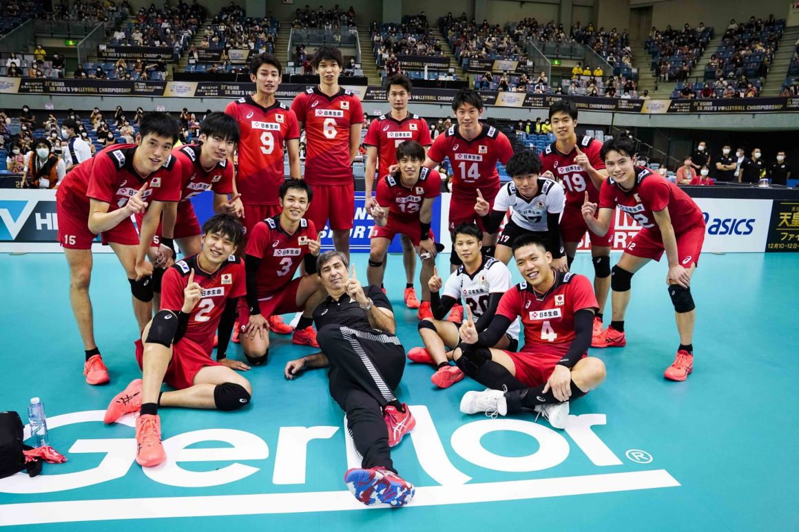 HOSTS JAPAN START STRONG WITH STRAIGHT SETS ON QATAR