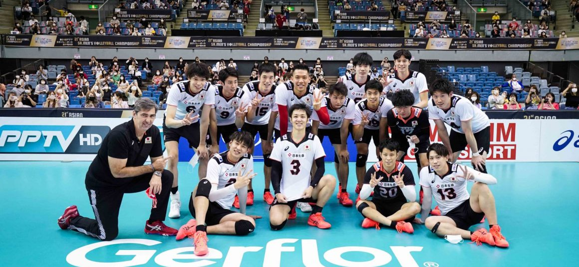 JAPAN JUMP TO TOP OF POOL A WITH STRAIGHT-SET WIN ON INDIA